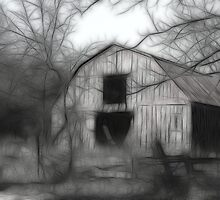 The Old Barn   II by Kay  G Larsen