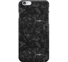Black Marble texture iPhone Case/Skin