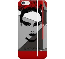 Black Swan Poster iPhone Case/Skin