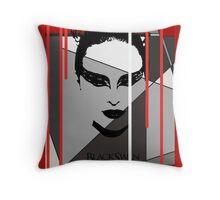 Black Swan Poster Throw Pillow
