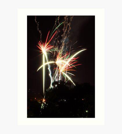 Happy New Year (my first 5DmkII post) Art Print