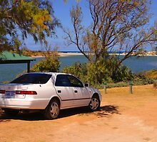Parked beside the Greenough River by georgieboy98