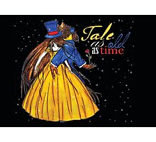Tale as long as time (Beauty and the Beast) Photographic Print