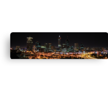 Perth from King's Park Canvas Print