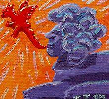 Sphinx Doood, Source of Dragons by VJMaheu