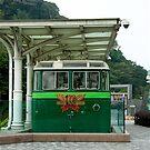 Peak Tram Museum piece by Maggie Hegarty