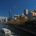 Melbourne's Yarra River by Hicksy