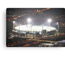 """The """"G"""" all lit up Canvas Print"""