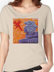 Sphinx Doood, Source of Dragons Women's Relaxed Fit T-Shirt