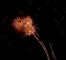 Fireworks over the Andaman Sea 2 by stjc