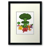 Veggiegeddon Framed Print