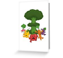 Veggiegeddon Greeting Card