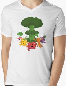 Veggiegeddon Mens V-Neck T-Shirt