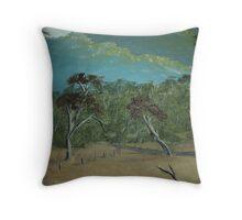 AUSTRALIAN LANDSCAPE IN THE BUSH Throw Pillow