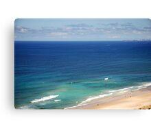 Beautiful Gold Coast of Australia Canvas Print
