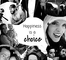 Shaytards - Happiness is a Choice B&W by laurenmel