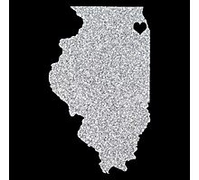Chicago, IL Glitter State Photographic Print