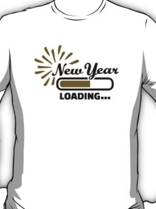 New Year loading T-Shirt