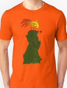 Mythical bird on Mountain top T-Shirt