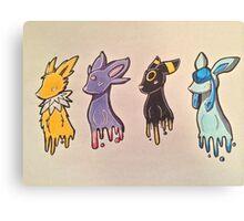 Pokemon Eevelutions Canvas Print