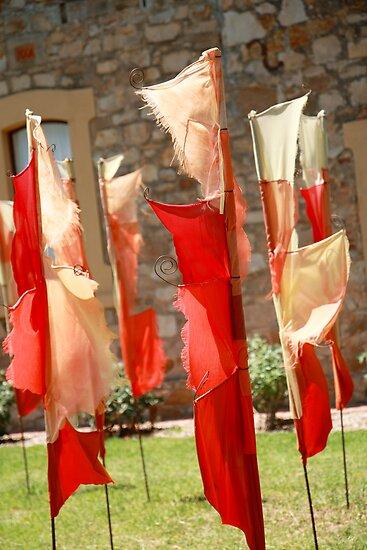 Hahndorf flags by Kieron Nolan