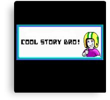 commander keen cool story bro Canvas Print
