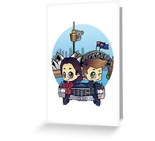 Winchesters in Sydney Greeting Card