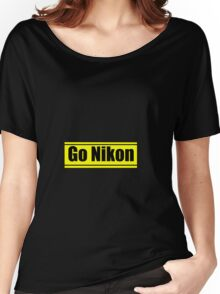 Go Nikon Women's Relaxed Fit T-Shirt