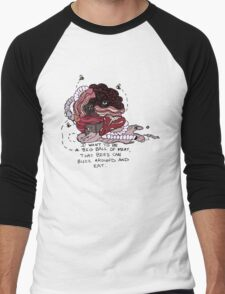 I Want to be a Big Ball of Meat  Men's Baseball ¾ T-Shirt