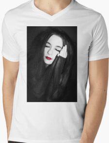 With Reverence Mens V-Neck T-Shirt