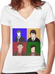 Fandom Women's Fitted V-Neck T-Shirt