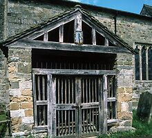 Porch 1160 St Gregories Minster Kirkdale North Yorkshire 198406020084  by Fred Mitchell