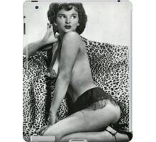 Lili Lamont - Sexy Pin Up model  iPad Case/Skin