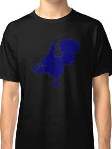 Netherlands map Classic T-Shirt