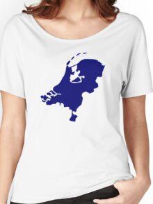 Netherlands map Women's Relaxed Fit T-Shirt