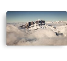Above the Clouds, French Alps Canvas Print