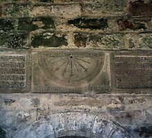 Original Saxon Sundial 1160 St Gregories Minster Kirkdale North Yorkshire 198406020086 by Fred Mitchell