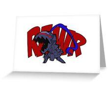 Burzerker Rawr! Greeting Card