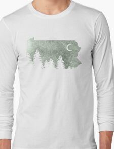 Summers in Pa  Long Sleeve T-Shirt