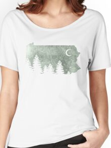 Summers in Pa  Women's Relaxed Fit T-Shirt