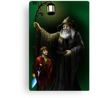 Gandalf and Bilbo Canvas Print