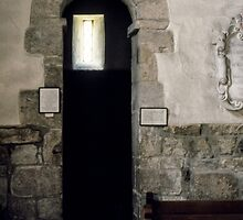 Anglo Saxon Door St Gregories Minster Kirkdale North Yorkshire 198406020093 by Fred Mitchell