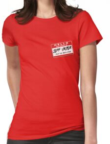 I'm Jeff Vader Pocket Location Womens Fitted T-Shirt