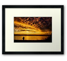 I Stand Amazed Framed Print