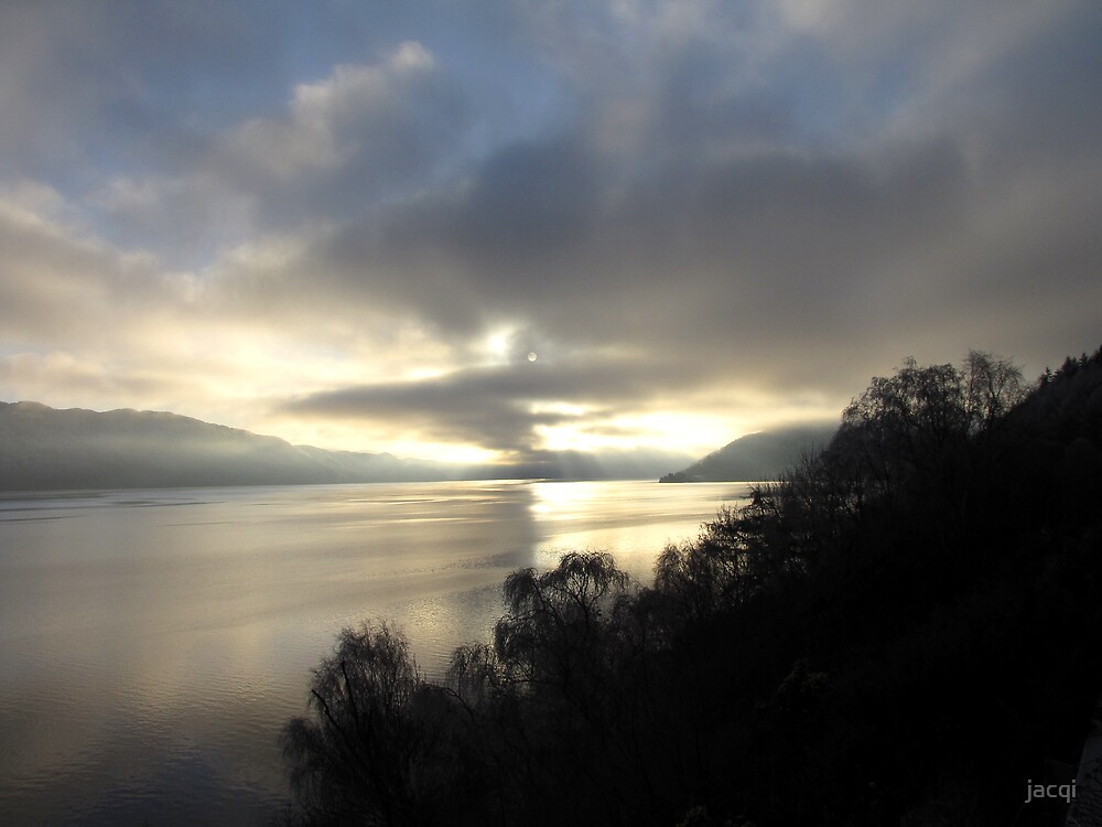December Afternoon Loch Ness by jacqi