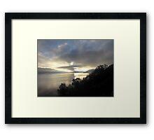 December Afternoon Loch Ness Framed Print