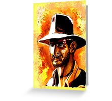 Indiana Jones! Greeting Card