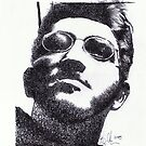Inked Portrait by bajidoo
