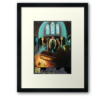 Funeral for a Fool Framed Print