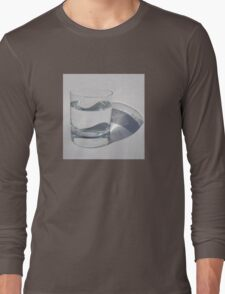 A Glass of Sparkling Water Long Sleeve T-Shirt